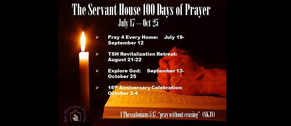 The Servant House 100 Days of Prayer