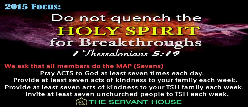 Do Not Quench the HOLY SPIRIT